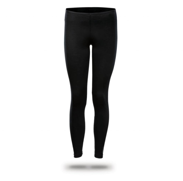 Leggings Women - Core Merino Wool - Colour black