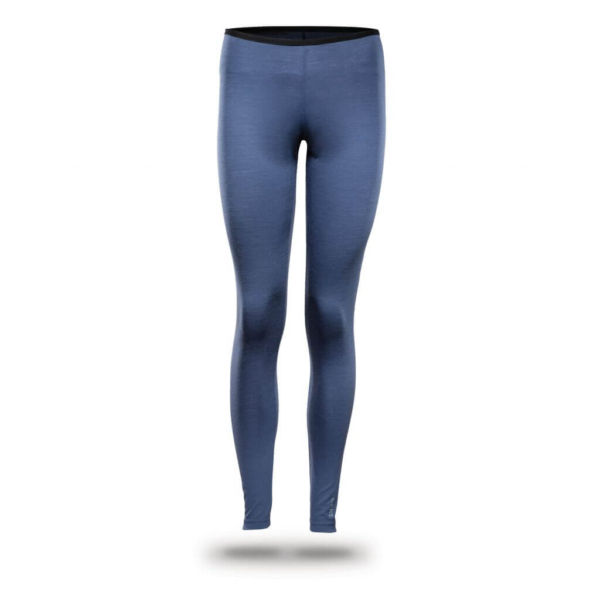 Leggings Women - Core Merino Wool - Colour light blue denim