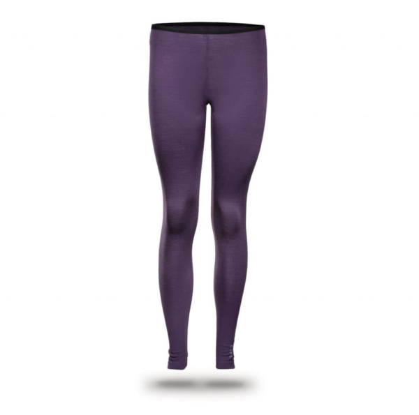 Leggings Women - Core Merino Wool - Colour purple