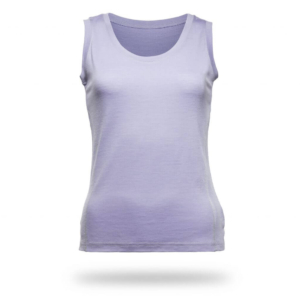 Sleeveless Shirt Women - Core Merino Wool - Colour lilac