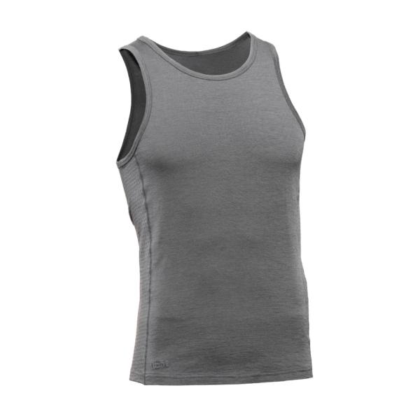 Sleeveless Tank Men - Core Merino Wool - Colour grey