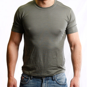 Short Sleeve Crew Neck T-Shirt Men - Core Merino Wool