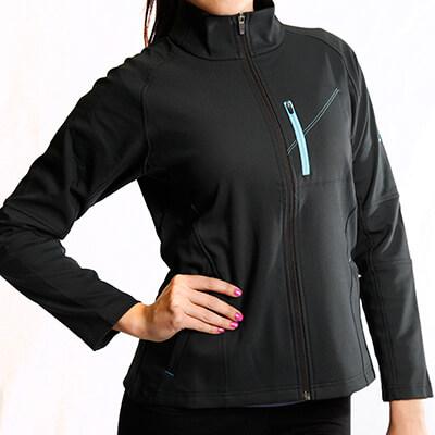 Softshell Jacket Women - Core Merino Wool - Fit