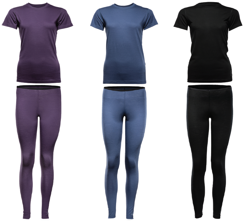 Core Merino Sleepwear Bundle Women